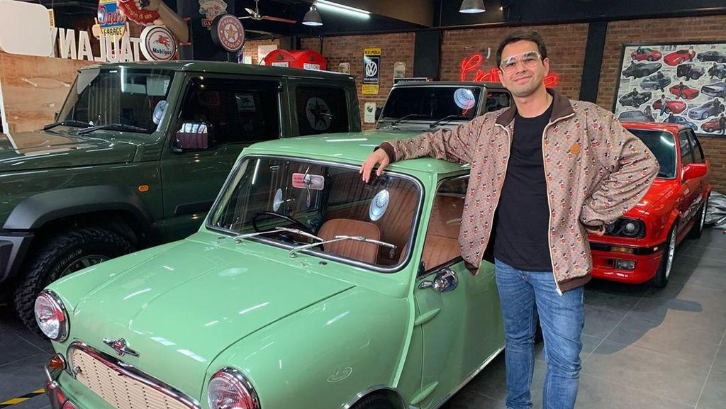 Punya Supercar Mewah, Apa Alasan Raffi Ahmad Tebus Mobil Klasik?