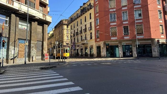 Italia kini menjadi salah satu negara yang miliki kasus tertinggi terkait penyebaran virus corona. Negara itu pun kini dikunci guna mencegah penyebaran COVID-19
