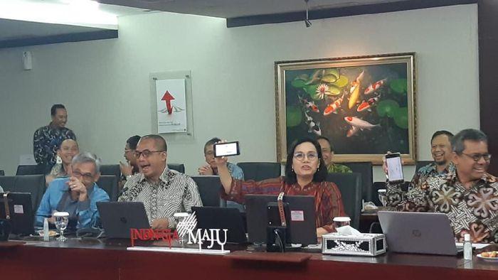 Menteri Keuangan Sri Mulyani Indrawati Lapor SPT