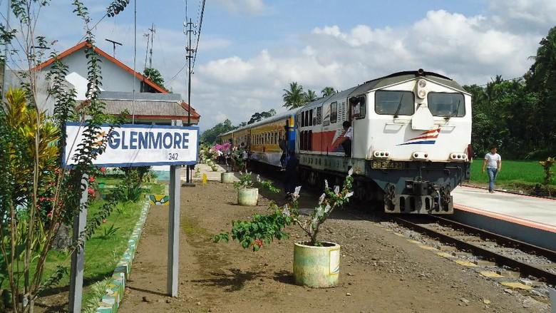 Stasiun Kereta Api Glenmore, di Banyuwangi yang dibangun sejak awal abad 20