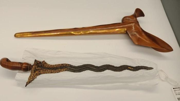 Naga Siluman di Keris Kiai Naga Siluman milik Pangeran Diponegoro. (Dok pribadi sejarawan Sri Margana)