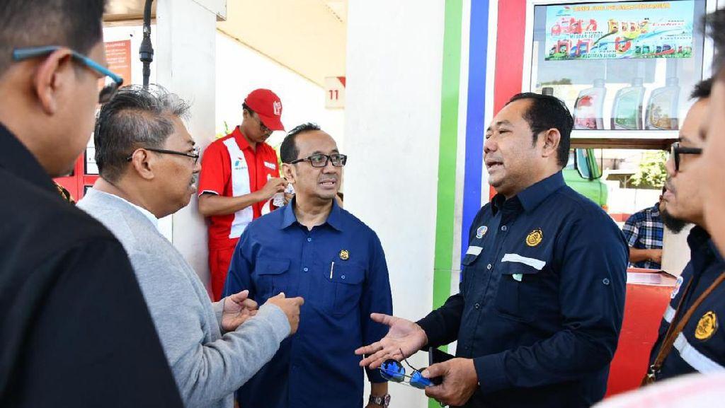 BPH Migas Cek Penyaluran BBM dan Implementasi Nozzle di Tangerang