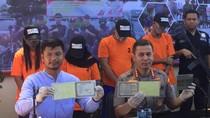 Jaminkan BPKB Hasil Curian, 4 Orang Ditangkap Polres Bandara Soetta