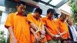 Empat Pelaku Pembobol ATM Mejeng di Polda Metro Jaya