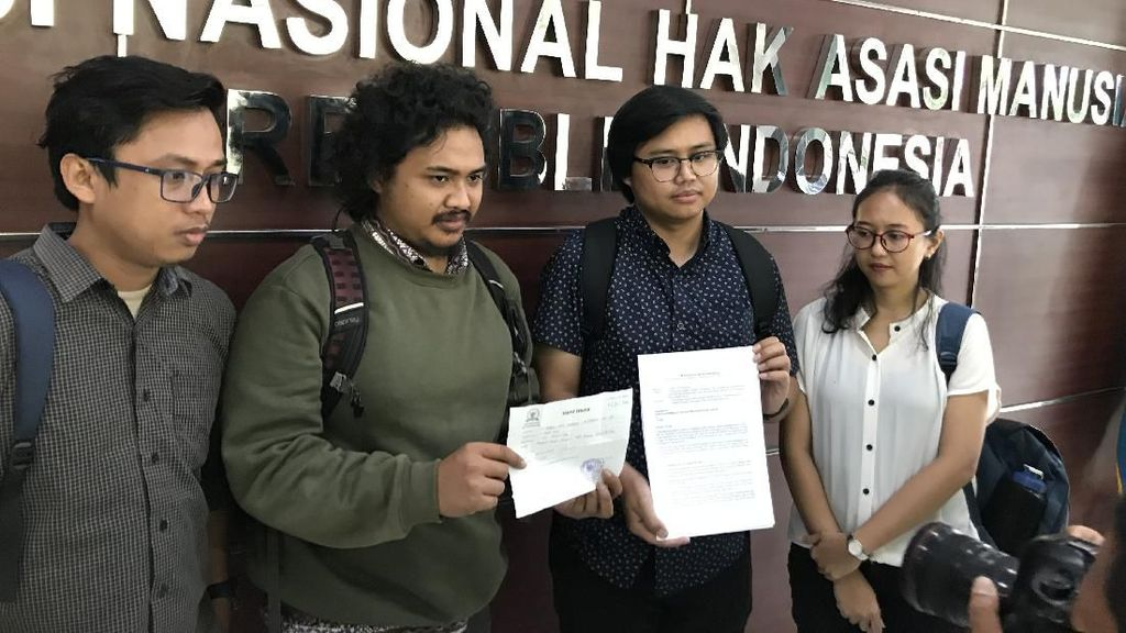 Diduga Ada Pelanggaran HAM Demo September 2019, Tim Advokasi Lapor Komnas HAM
