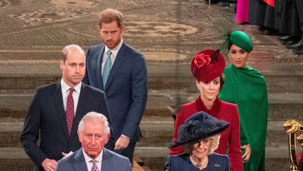 Foto: Wajah Tegang Pangeran Harry saat Bertemu Pangeran Willam