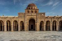 Masjid Agung Kairouan.