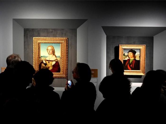 Pameran Lukisan Raphael di Roma Dihentikan