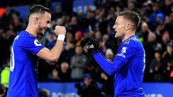 Leicester City Vs Aston Villa: Vardy Dua Gol, The Foxes Menang Telak 4-0