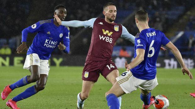 Hasil Liga Inggris: Leicester Tekuk Aston Villa 4-0
