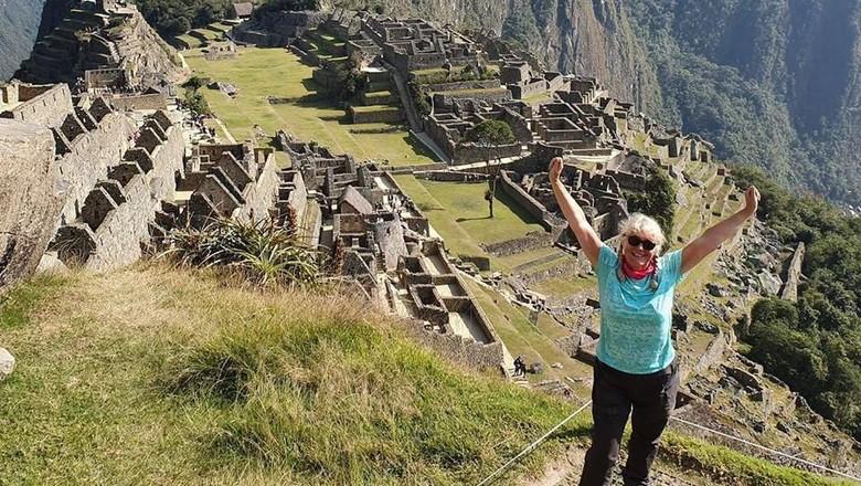 Wisatawan Machu Picchu