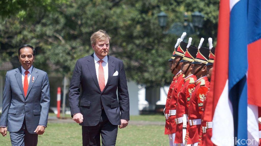 Raja Belanda ke RI Kucurkan US$ 1 Miliar