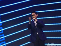Penyanyi Afgan di Acara Peluncuran Vivo V19