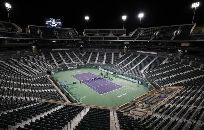 Turnamen tenis Indian Wells 2020 batal digelar tahun ini. Wabah virus corona menjadi penyebabnya.