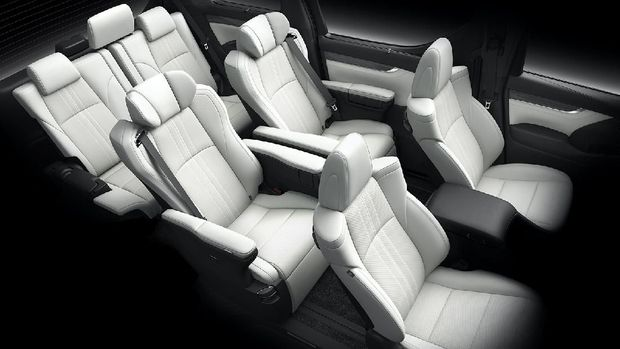 Interior Lexus LM