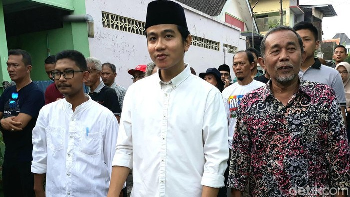 Bakal calon Wali Kota Solo, Gibran Rakabuming Raka, Selasa (10/3/2020).