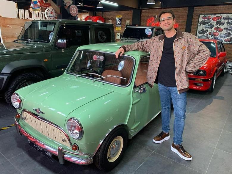 Raffi Ahmad beli mobil klasik Andre Taulany