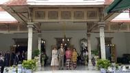 Raja Ratu Belanda Kunjungi Keraton Jogja