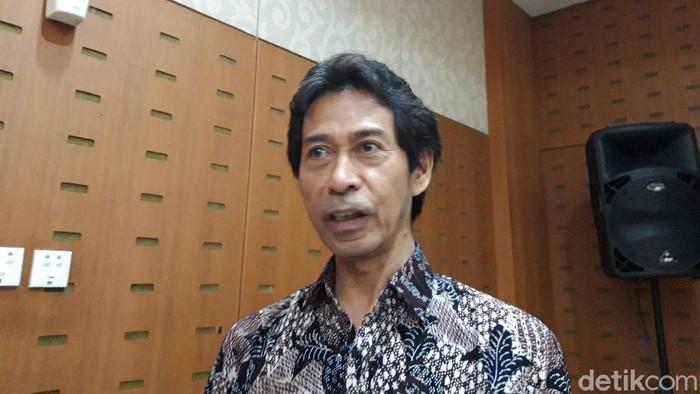 Plt Kepala Badan Penelitian, Pengembangan, dan Perbukuan Kemdikbud Totok Suprayitno (Rahel Narda Chaterine/detikcom)