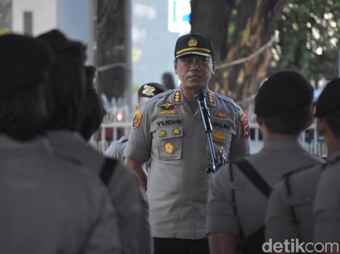 Kapolrestabes Makassar, Kombes Yudhiawan Wibisono (M Taufiqurrahman/detikcom)