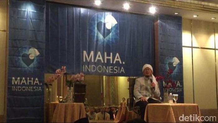 Aa Gym (Farih Maulana Sidik/detikcom)
