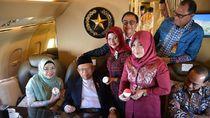 Ultah Ke-77, Maruf Dapat Ucapan Selamat dari Kru Pesawat Kepresidenan