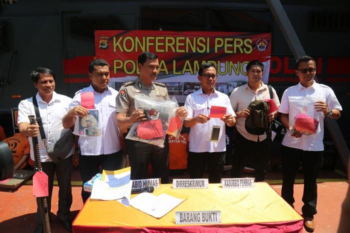 Polda Lampung tangkap 1.000 bandit lebih dalam Operasi Cempaka Krakatau 2020 (dok. Istimewa)
