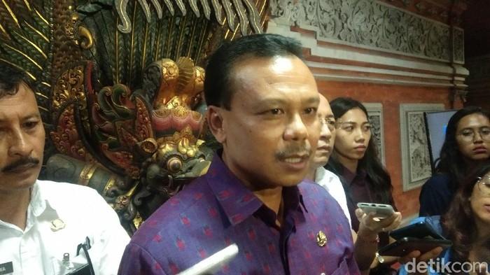 Sekda Bali Dewa Made Indra (Angga Riza/detikcom)