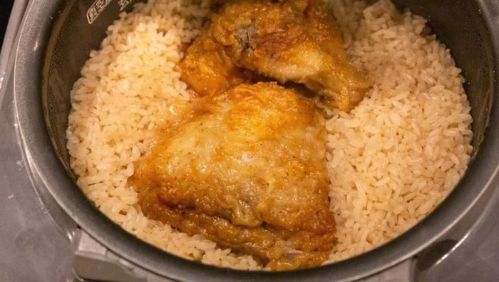 kreasi nasi pakai rice cooker yang lezat