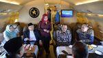 Momen Maruf Amin Dapat Ucapan Selamat Ultah dari Kru Pesawat Kepresidenan