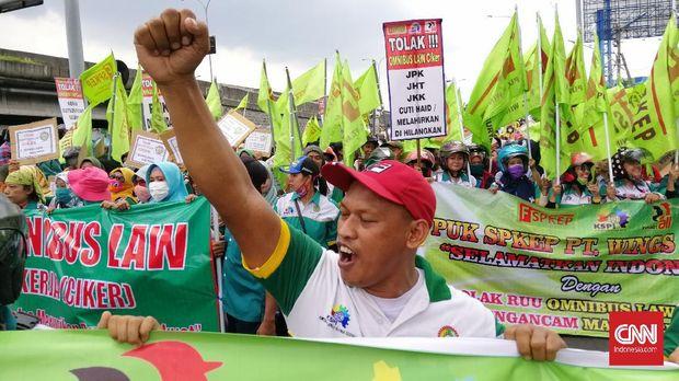 Aksi Tolak Omnibus Law Jatim Ditunda karena Corona