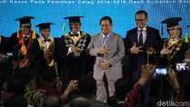Prabowo Subianto Hadiri Sidang Doktor Edhy Prabowo