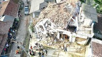 Penampakan Kerusakan Akibat Gempa di Sukabumi