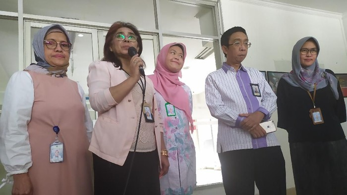 Direktur Umum RSUP Persahabatan Rita Rogayah. (Foto: Yogi/detikcom)