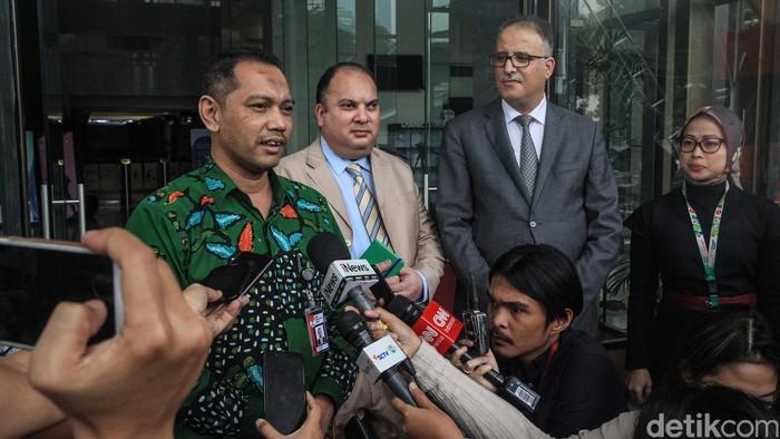 Duta Besar Tunisa untuk Indonesia, Riadh Dridi sambangi Gedung Merah Putih dalam rangka kerja sama pemberantasan korupsi.