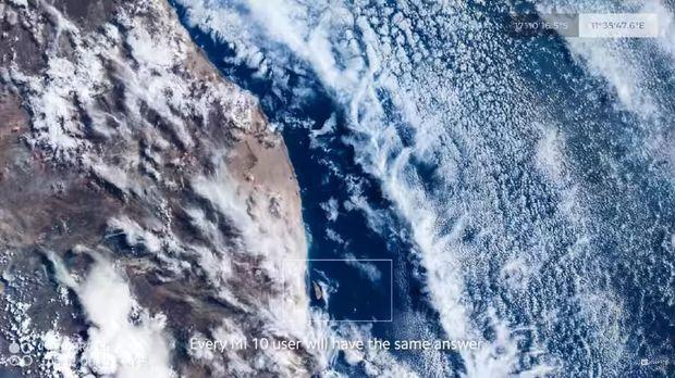 Hasil foto Bumi dari luar angkasa dijepret dari kamera 108MP Xiaomi Mi 10 Pro.