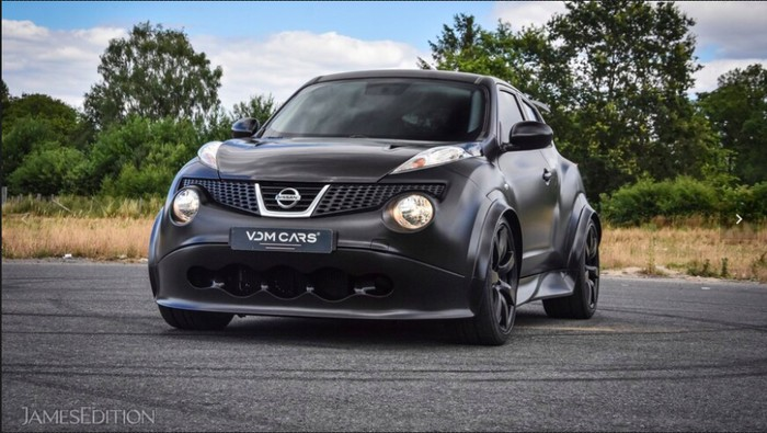 Modifikasi Nissan Juke-R setara dengan GT-R