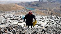 Wanita-Wanita Pengemis Emas di Pemukiman Tertinggi di Dunia
