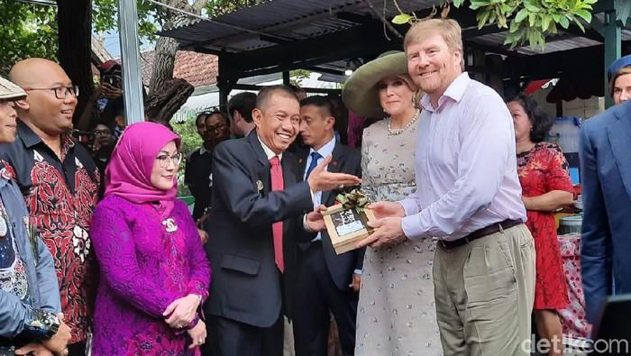 Raja dan Ratu Belanda berkunjung ke Kampung Cyber Yogya
