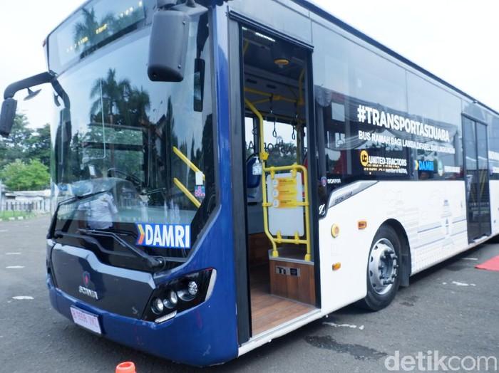 Jawa Barat Resmi Uji Coba Bus Scania Ramah Difabel, Lansia, dan Lingkungan