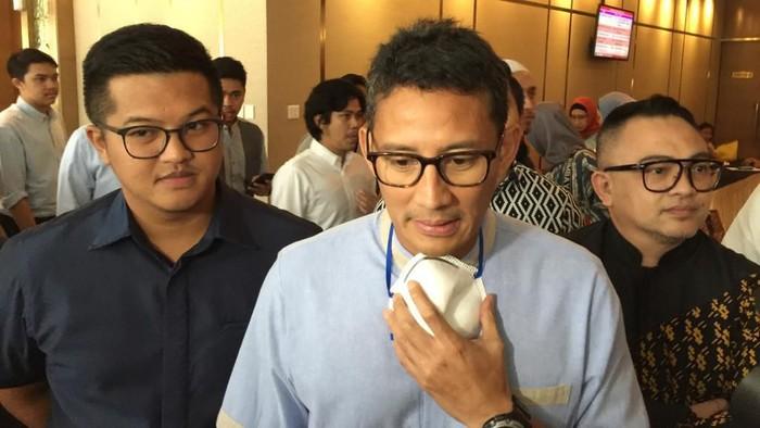 Sandiaga Uno (Foto: Farih Maulana/detikcom)
