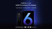 Jadwal peluncuran Realme 6 dan Realme 6 Pro di Indonesia.
