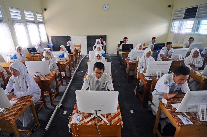 Pelajar SMA di Banjarmasin