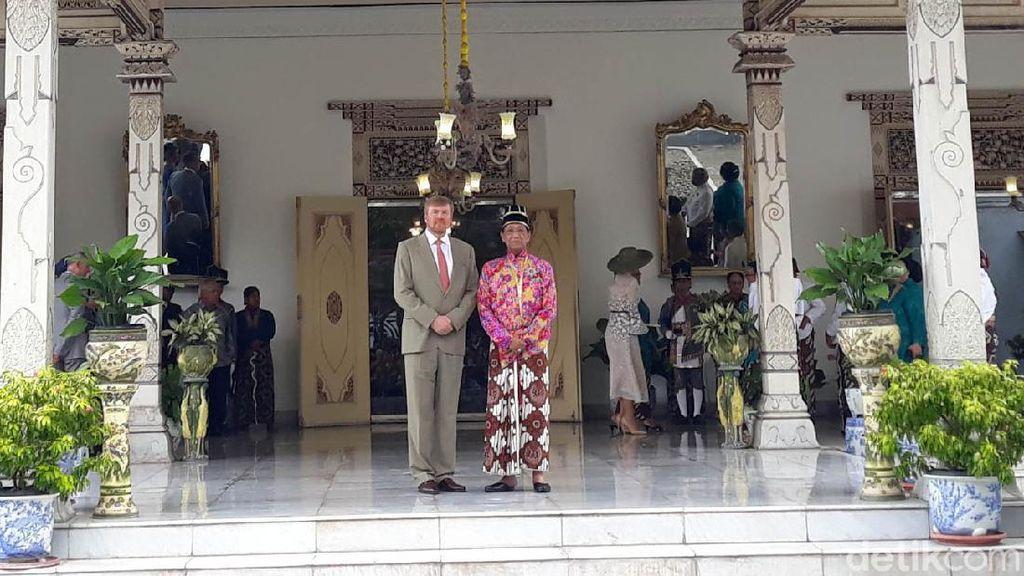 Tepis Isu ODP Corona Usai Bertemu Raja Belanda, Sultan: Semua Clear