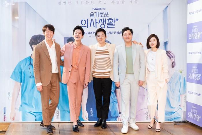 Rekomendasi drama Korea terbaik tentang dokter. Foto: Hospital Playlist (dok. Netflix)