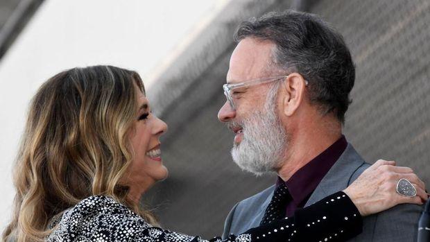 Tom Hanks dan Rita Wilson /