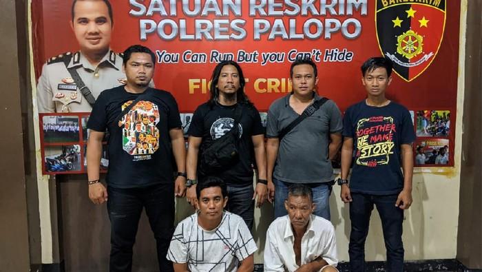 2 pelaku hipnotis di Palopo ditangkap (dok. Istimewa)