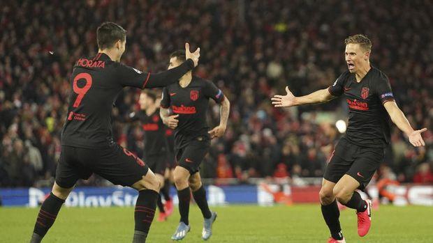 Jebakan Atletico dan Petaka Liverpool 126 Detik Usai Pesta