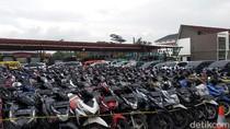Mirip di Showroom, Ratusan Kendaraan Dipamerkan di Mapolda Jabar