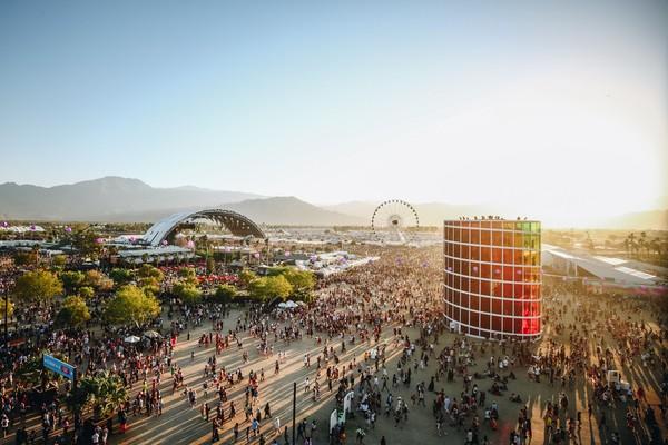 Salah satu festival musik terbesar di dunia, Coachella Valley California Selatan terancam batal karena mewabahnya virus corona. Getty Images/Rich Fury.